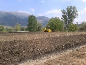 Ioannina Composting Windrows